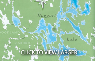 Haggart Lake Outpost Map
